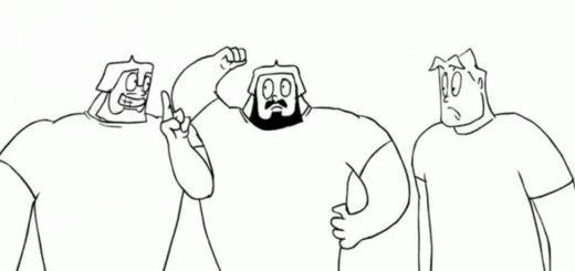 Три богатыря, картинка из мультфильма