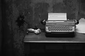 пишущая машинка, писатель, сочинение
