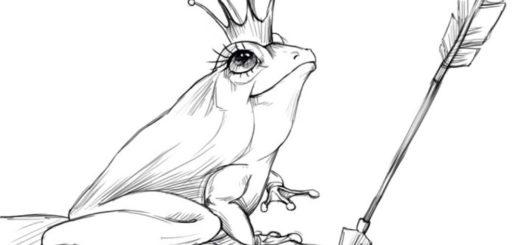царевна-лягушка, иллюстрация к сказке