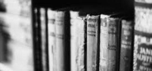 книжная полка, книги на полке