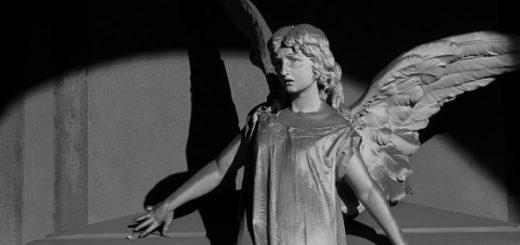 скульптура, ангел