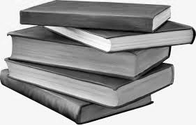 книги в стопке