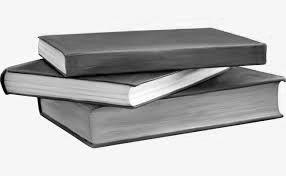 книги в стопке на белом фоне