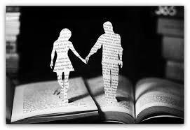 книги, герои, он и она
