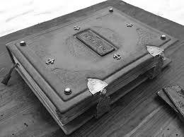 кованый и кожаный переплет книги
