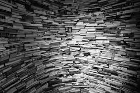стена из книг