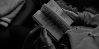 читатель, человек читает книгу