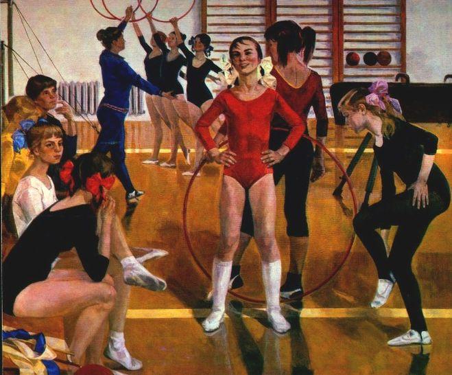 картина Детская спортивная школа
