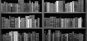 библиотека, книги, знания
