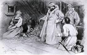 Емельян Пугачев, герой рвана Капитанская дочка Пушкина