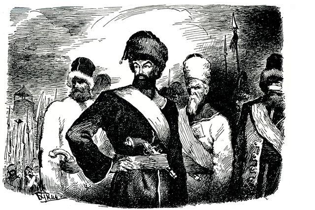 иллюстрация к роману Капитанская дочка