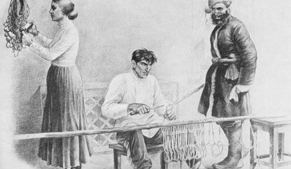 семьи в романе Тихий Дон, иллюстрация