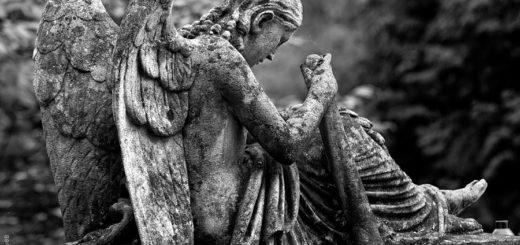 скульптура ангел