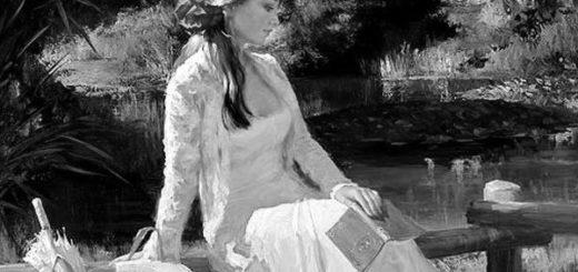 женщина 19 века, муза