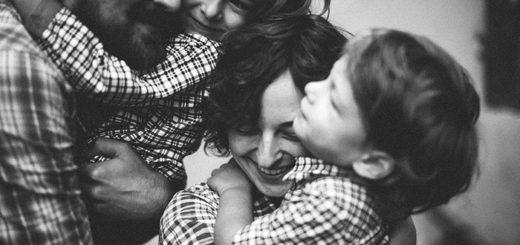семья, родители и дети