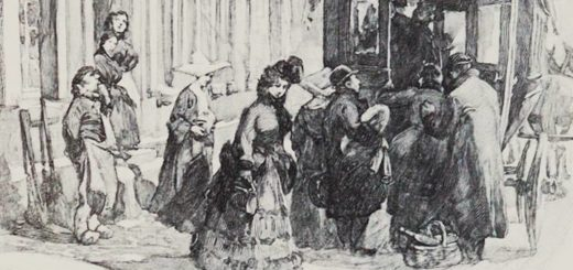 иллюстрация к новелле Пышка