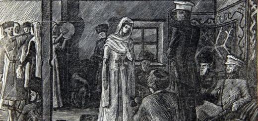 иллюстрация к роману Герой нашего времени - Бэла