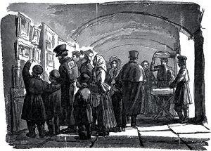 иллюстрация к повести Портрет, вторая часть