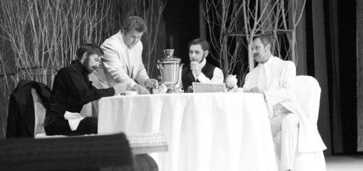 чаепитие в семье Кирсанова, Отцы и дети