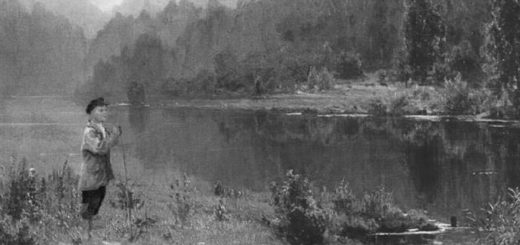 иллюстрация к рассказу Васюткино озеро