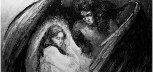 иллюстрация к поэме Демон