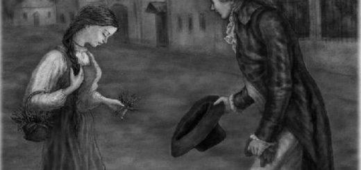 иллюстрация к повести Бедная Лиза