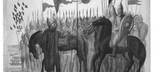 иллюстрация к Слову о полку Игореве