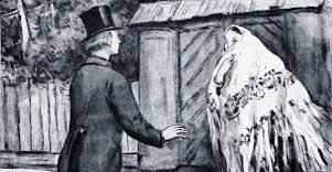 Катерина и Борис в пьесе Гроза