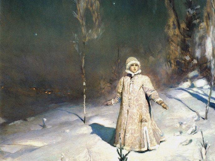 картина Снегурочка