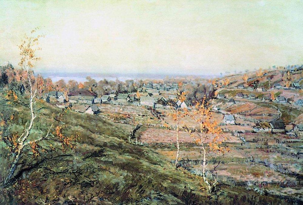 картина Село Хмелево