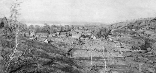 картина Село Хмелевка
