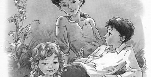 Вася, Валя и Маруся в повести Дети Подземелья
