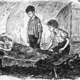 Маруся, Валек и Вася в рассказе В дурном обществе