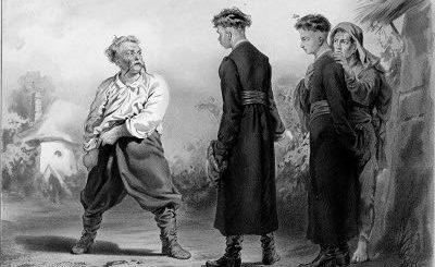 Тарас Бульба и сыновья