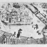 иллюстрация Шагала для Мертвых душ