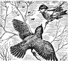 иллюстрация к рассказу Скворцы