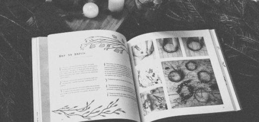 книга и зима