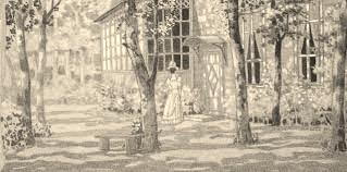 иллюстрация к пьесе Вишневый сад