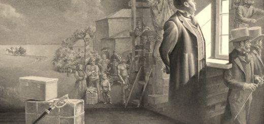 иллюстрация к поэме Мертвые души