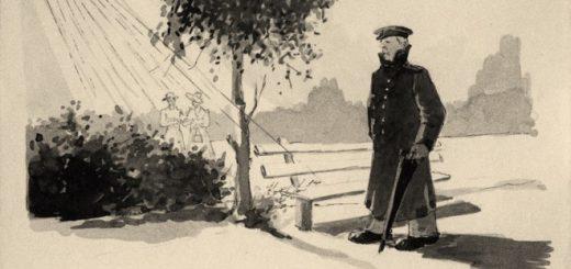иллюстрация к рассказу Человек в футляре