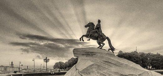 иллюстрация к поэме Медный всадник