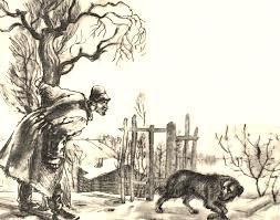 иллюстрация к рассказу Кусака