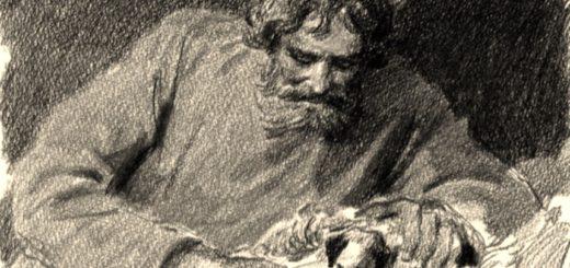иллюстрация к рассказу Му му