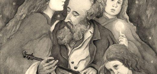 иллюстрация к рассказу Скрипка Ротшильда