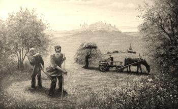 иллюстрация к рассказу Косцы