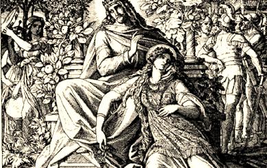 иллюстрация к повести Суламифь