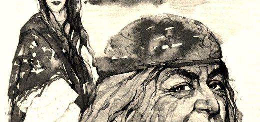 иллюстрация к рассказу Старуха Изергиль