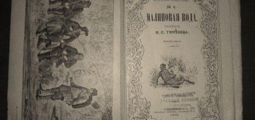 иллюстрация к рассказу Малиновая вода
