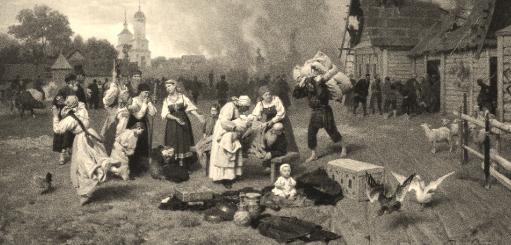 иллюстрация к поэме Кому на Руси жить хорошо
