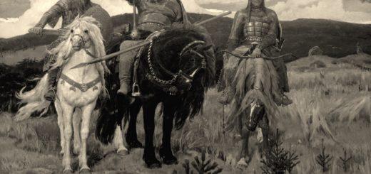 картина Васнецова Богатыри